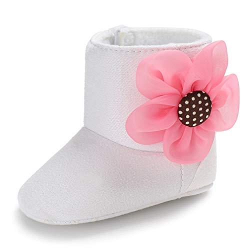 Zapatos de bebé de Invierno, Kfnire Botas de Suela Blanda Antideslizante bebé con Forro Polar...