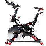 CARE FITNESS - Spider électronique - Spin Bike - vélo d'Appartement Spinning - Spin Bike Haut de Gamme - Poids d'inertie 24 kg - Châssis Robuste - Position Proche Vrai Vélo - Vélo Appartement Care