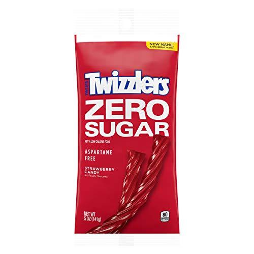 TWIZZLERS Sugar Free Strawberry Twists (5-Ounce Bag) by Hershey's
