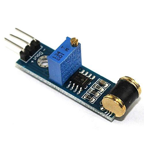 hgbygvuy Sensisività Regolabile del modulo di Controllo del sensore di Vibrazione 801S