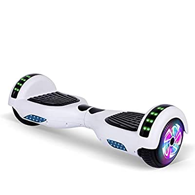 """TST 6.5"""" Self-Balancing Electric Scooters, 2 Wheels Self Balancing Hoverboard, with Bluetooth, LED Light Hoverboard for Kids and Adults"""