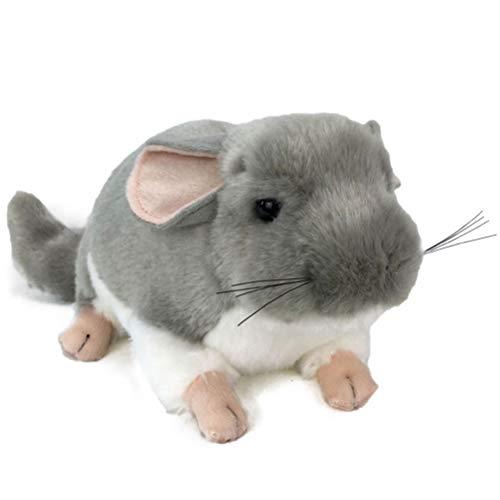 WINBST Juguete de Peluche de Chinchilla, Juguetes de Peluche de Felpa, simulación Bonita, Juguetes de Peluche de Chinchilla, simulación de ratón de Rata, muñecos de Peluche, Regalo para niños