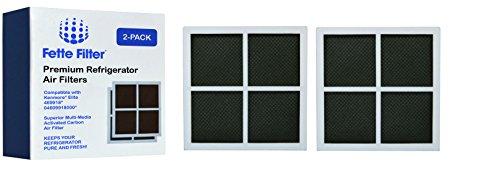 Fette Filter - Refrigerator Air Filter Compatible for Kenmore Elite 469918. (2-Pack)