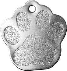 Bow Wow Meow Personalizado Chapa identificativa para Perros de Acero Inoxidable con...