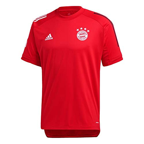 adidas FC Bayern Munchen Temporada 2020/21 FCB TR JSY Camiseta Entrenamiento, Unisex,...