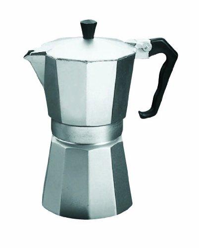 Metaltex 256416010 Espressozubereiter für 6 Tassen Aluguss