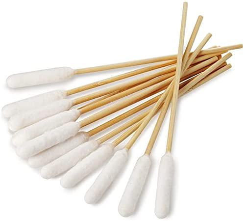 BambooStick Bastoncini con cotone per pulire le orecchie dei cani L/XL, confezione da 50 pezzi
