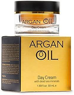 Argan Oil Day Cream with Dead Sea Mineral 1.69 fl oz / 50 ml