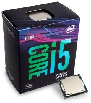 Intel Micro Core I5-9400F 2,90/4,10GHZ LGA1151 9ªGEN C/Ventilador Box