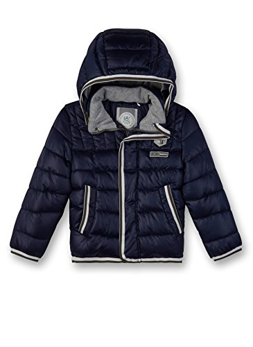 Sanetta Jungen Outdoorjacket Jacke, Blau (Evening Blue 5683), 116