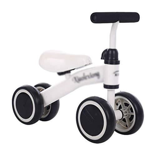 Stone Home Balance Fahrrad JayCreer Baby-Laufräder Fahrrad Kinder Wanderer-Kleinkind-Fahrrad (Color : White)
