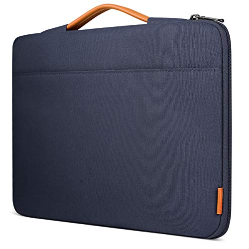 Inateck 13-13.3 Inch Sleeve Case Briefcase Cover Protective Bag Ultrabook Netbook Carrying Protector Handbag Compatible 13 Inch MacBook Air/MacBook Pro(Retina) 2012-2015, 2019/2018/2017/2016 - Blue