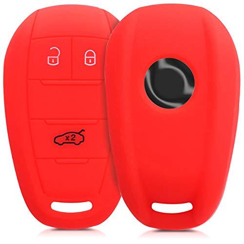 mächtig Kwmobile Autoschlüsselabdeckungen sind kompatibel mit Alfa Romeo 3-Tasten-Funkschlüsseln – Silicon…