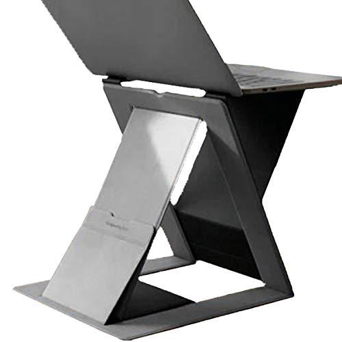 MOFT Z 新商品 ノートパソコン スタンド PCスタンド 立ちデスク 軽量 MacBook デスク 薄型 MOFT ms015 (グレー)
