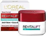 L'Oréal Paris Tagespflege, Revitalift Klassik, Anti-Aging Gesichtspflege, Leichte Textur, Anti-Falten, Extra-Straffheit und Elastizität, Pro-Elastin und Bienenwachs, 50 ml