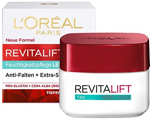 L'Oréal Paris Tagespflege, Revitalift Klassik, Anti-Aging Gesichtspflege, Leichte Textur,...
