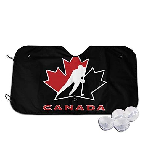 Jeffrey Toynbee Kanada National Eishockey Team Logo Auto Faltbarer UV-Strahlreflektor Auto Frontfenster Sonnenschutz Visier Schild Abdeckung
