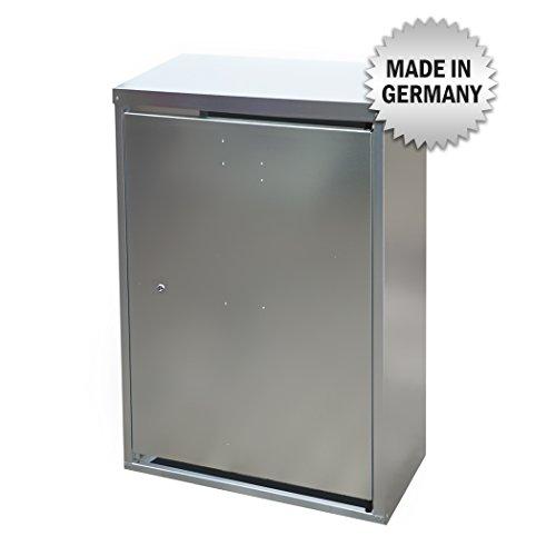 2 x 33 kg Propangas Flaschenschrank / Gasflaschenschrank verzinkt OHNE RÜCKWAND (geeignet für 3-, 5, 10, 11, 19 kg Gasflaschen - Gasschrank Flüssiggas Schutzschrank)