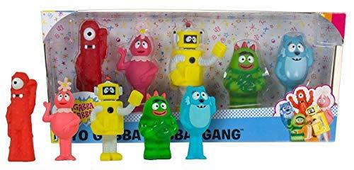 Yo Gabba Gabba Gang 5 Set: Muno Brobee Toodee Foofa & Plex