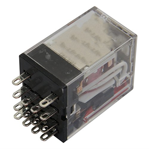 MY4 110/120VAC (S) Relay: electromagnetic 4PDT Ucoil: 120VAC 5A/220VAC 5A/24VDC