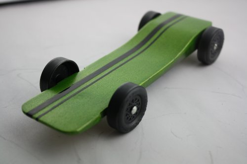 Derby Dust Car Kit Fast Speed Complete Ready to Assemble for Pine Wood Car Derby -Physics Lecture