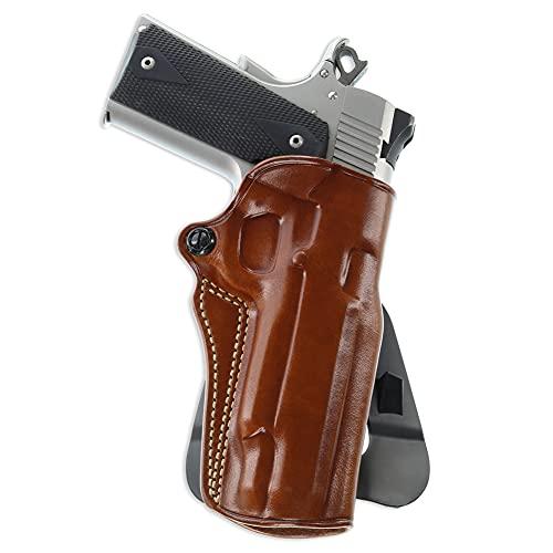 Galco Speed Master 2.0 Paddle Belt Leather Holster, Amt Hardballer, Colt 5in 1911, para SM2-212