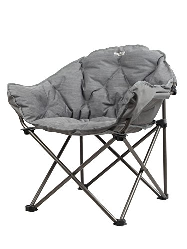 Westfield Outdoors Juwel Moon Foldable Stuhl, grau, 70 x 60 x 80 cm