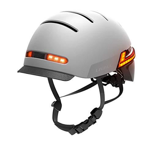 LIVALL Smart Helmet, Bluetooth Bike Helmet with Auto Sensor LED, Sides -Built-in Mic, Speakers, SOS Alert, Smart Bike Helmet-Upgraded Version BH51M Neo, Graphite