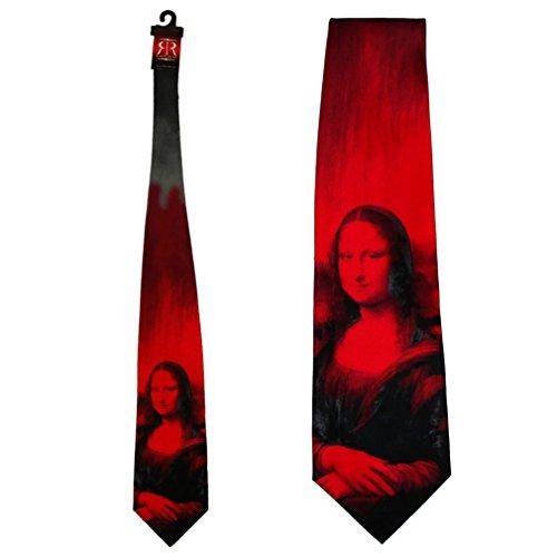 Cravate 'La Joconde' Robin Ruth - Rouge