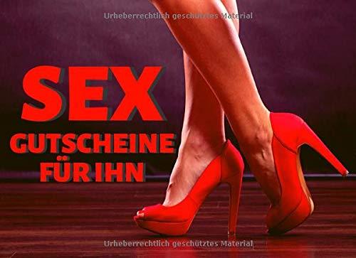 Sex Gutscheine für ihn: lustige Jahrestags Geschenk für Mann oder Freund, schmutzige Gutscheine für sein Vergnügen, Valentinstag Geschenk für Männer, sex coupons for him