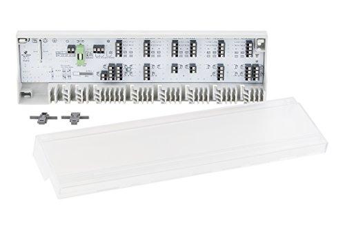 Möhlenhoff Alpha-Basis direct 230V/24V | hochwertige Regelklemmleiste Fußbodenheizung | für 6 Thermostate & 15 Stellantriebe