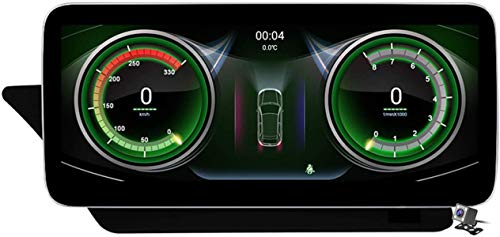 Qualcomm Android 10 Coche Radio de Navegación GPS para Benz E Class c207 2009~2016 con 10.25/12.5' Pantalla Construido CarPlay DSP Support Coche Estéreo Multimedia/CD DVD SWC