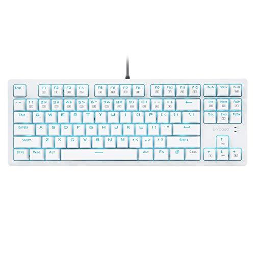 teclado 87 teclas de la marca HUO JI