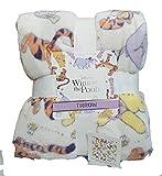 Disney Winnie The Pooh Throw Bed Blanket Home Decor 120 Cm x 150 Cm