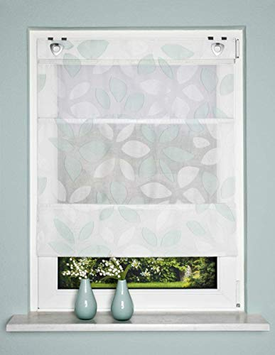 Home Fashion MAGNETROLLO SCHERLI Blatt, Mint, 130 x 80 cm