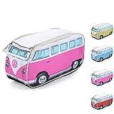 Board Masters Neceser para artículos de tocador y Maquillaje de Volkswagen VW, Caravana Volkswagen T1 Combi, Unisex, 4 Colores