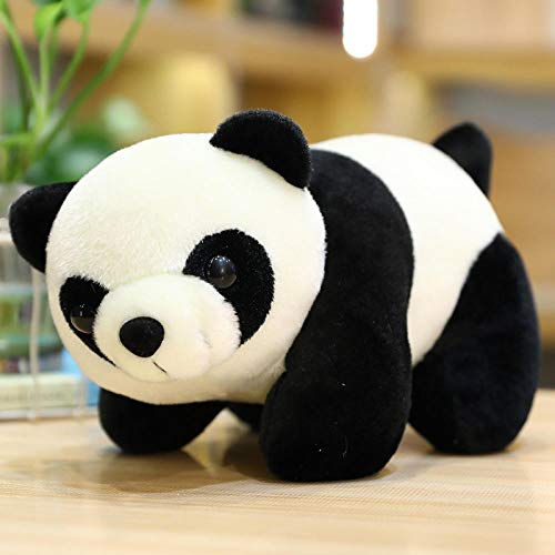 CPFYZH Muñeco de Peluche de Juguete Animal Marino León Marino Oso Polar Juguete de Felpa Almohada de Dibujos Animados muñeco de Peluche Regalo para niños-Panda