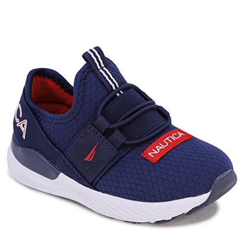 Nautica Zapatillas deportivas deportivas para correr, sin cordones, para niños y niñas, para niños (niños grandes/niños pequeños)...