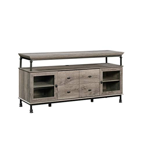 "Sauder 420494 Entertainment Credenza, for Tvs Up to 60"", Northern Oak"