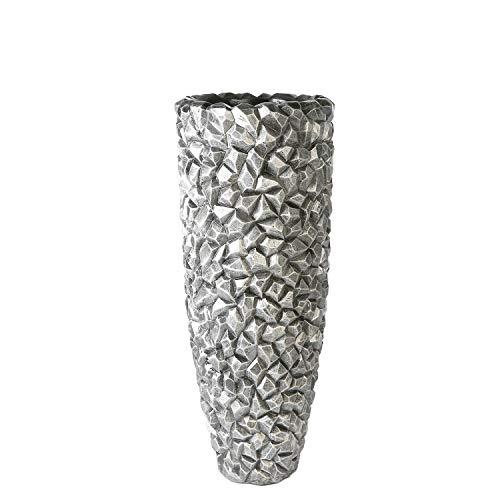 Pot Gravity Graphite H. 105 cm