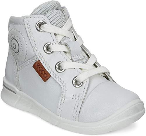 Ecco Unisex Baby FIRST Lauflernschuhe, Weiß (1007white), 22 EU
