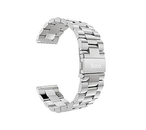 HOCO, cinturino di ricambio Pinhen per orologio in stile milanese, con chiusura magnetica, in acciaio inox, per orologio Samsung Gear S3 Frontier e Classic