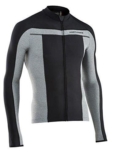 Northwave Celsius Fahrrad Trikot schwarz/grau 2017: Größe: M (46/48)