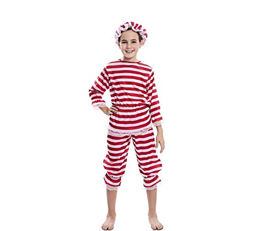 EUROCARNAVALES Disfraz de Bañista Antigua para niña 10 a 12 años