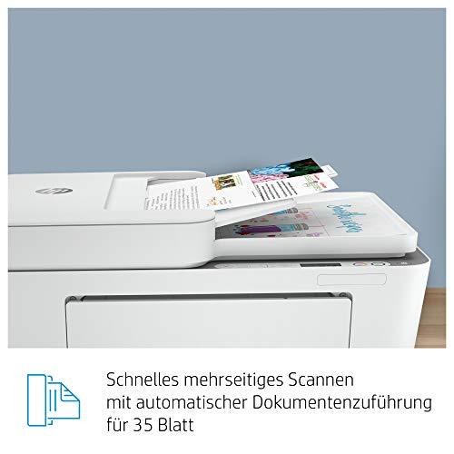 HP DeskJet Plus 4110 Multifunktionsdrucker (Instant Ink, Drucker, Kopierer, Scanner, mobiler Faxversand, WLAN, Airprint) inklusive 6 Monate Instant Ink