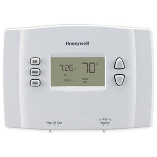 Honeywell RTH221B1021/E1 RTH221B1021 Programmable Thermostat, Off White