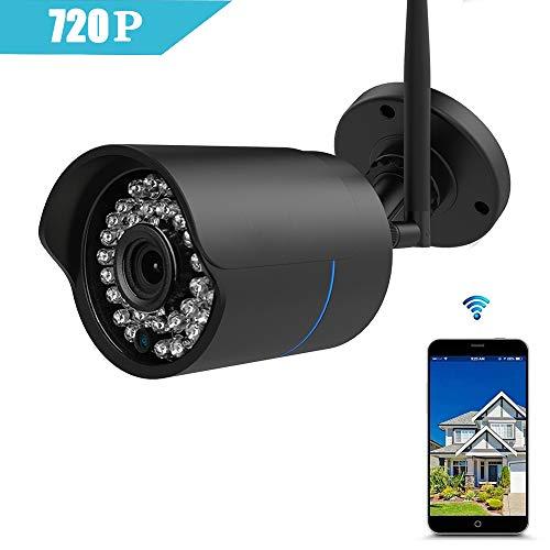 huayuu IP Telecamera Indoor/Outdoor telecamera HD 1080P infrarossi per esterno impermeabile WLAN esterno senza fili CAM CON FOTOCAMERA WiFi telecamera di sorveglianza di rete, supporto FTP