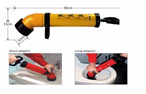 Professionele Force Pomp Cleaner Spoelen Pijp Handige Basin Bowl Buis Toilet Bad Sluitstuk Afvoerpijp Riool Plunger Dredge