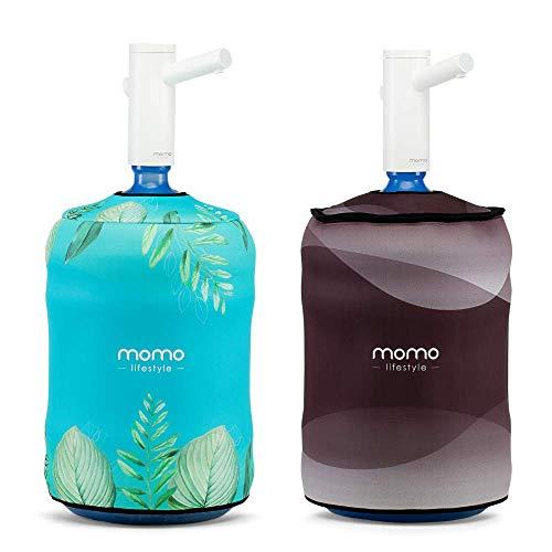 Momo Lifestyle - Capa para Galão de Água, em Neoprene, Dupla-face (Ocean, para Galão 20 Litros)