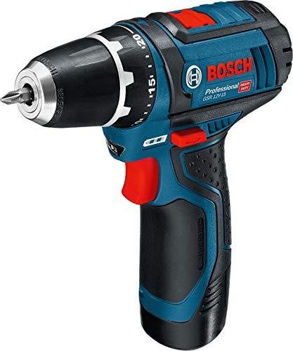 Bosch Professional 0615990GS8 Akku-Bohrschrauber GSR 10,8-2-LI 3x2,0A 3 Akkus 10,8V,2,0Ah L-Boxx Premium Edit, 10.8 W, 10.8 V